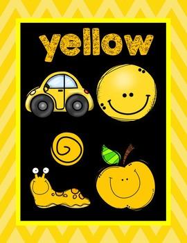 Color Posters Chevron