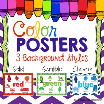 Color Posters {Classroom Decor}