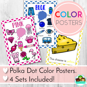 Color Posters Classroom Decor