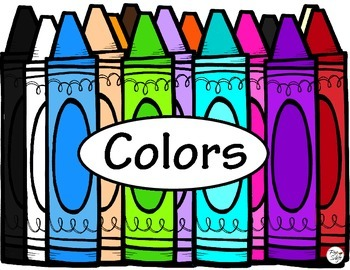 Color Posters ~ Color Word Signs