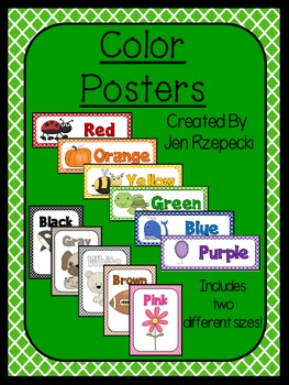 Color Posters-Criss Cross Borders