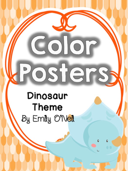 Color Posters (Dinosaur Theme)