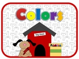 Color Posters Dog Theme