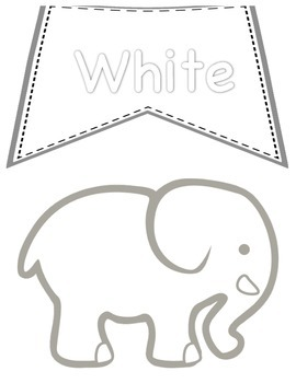 Color Posters- Elephant Theme