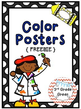 Color Posters {FREEBIE}