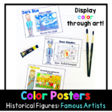 Color Posters | Famous Artists | Historical Figures
