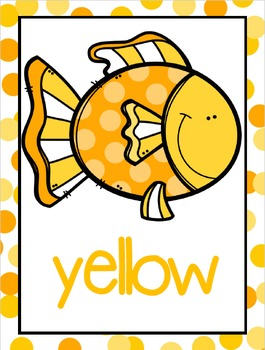 Color Posters:  Fish Theme