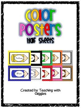 Color Posters Half Sheet Freebie