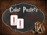 Color Posters: Harry Potter Inspired