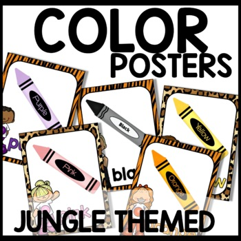 Color Posters (Jungle Themed)