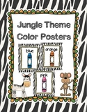 Jungle Themed Color Posters