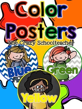 Color Posters {Kidlettes}
