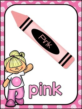 Color Posters MIX AND MATCH (PINK Polka Dot Scribble)