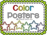 Color Posters- Melonheadz Stars