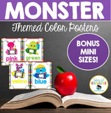 Color Posters Monster Theme