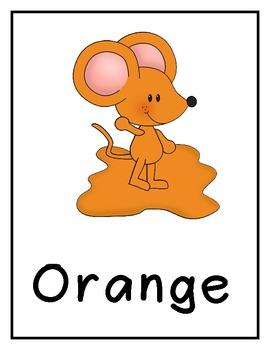 Color Posters (Mouse Paint)