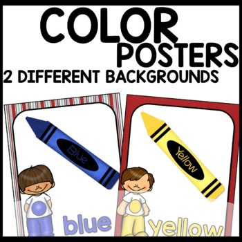Color Posters (Nautical Themed)