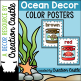 Color Posters - Ocean Decor