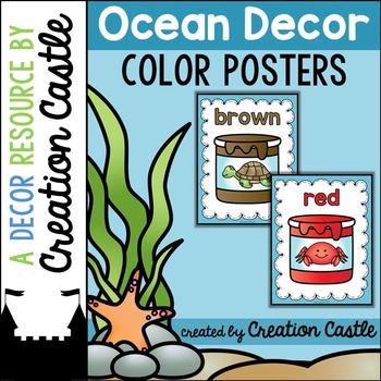 Color Posters - Ocean Decor