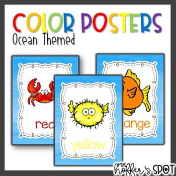 Color Posters {Ocean}