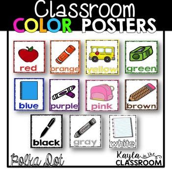 Color Posters (Polka Dot Edition)