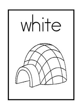 Color Posters, Print Font