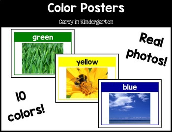 Color Posters--REAL Photos