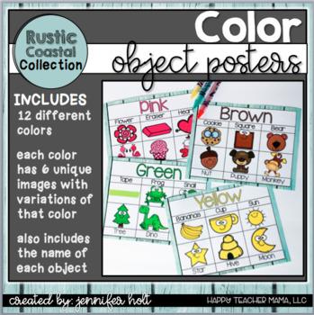 Color Posters {Rustic Coastal}