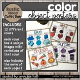 Color Posters (Farmhouse Rustic Wood)