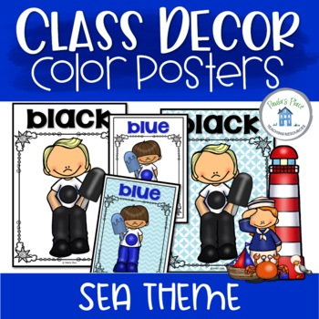 Color Posters Sea Theme