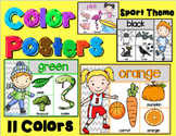 Color Posters  Sport Theme