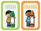 Color Posters: Sunny Days Classroom Decor