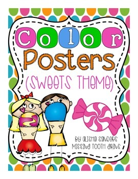 Color Posters {Sweets Theme}