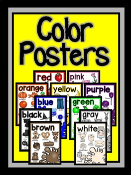 Color Posters-The Modern Classroom