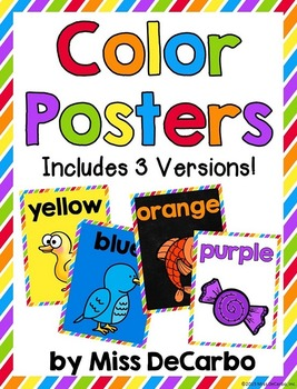 Color Posters - Three Versions!