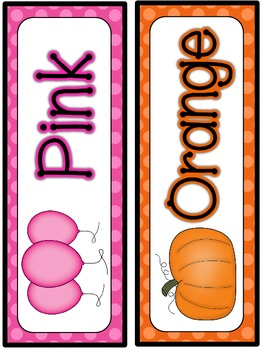 Color Posters-Tone on Tone Polka Dots