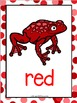 Color Posters:  Tree Frog Theme