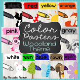 Color Posters- Woodland Theme