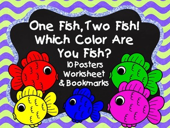 Color Posters, Worksheet and Bookmark Set