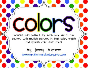 Color Posters and Flashcards