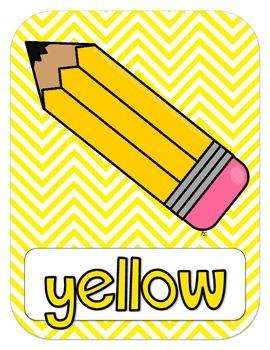 Color Posters {chevron}