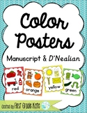 Color Posters for Classroom Decor