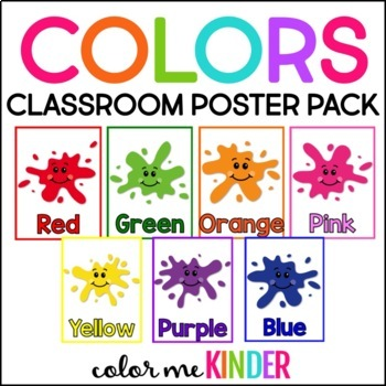 Colors Poster Pack