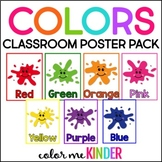 Chevron Chic COLORS Posters for the Primary Classroom