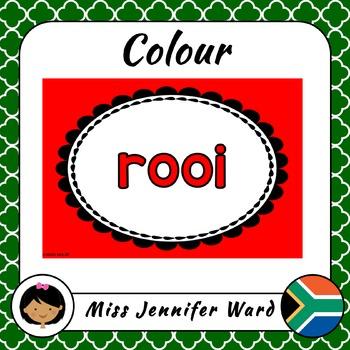 Color Posters in Afrikaans BUNDLE