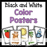 Color Posters in Black and White