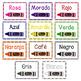 Color Posters in English & Spanish - Pósters de Los Colores BUNDLE