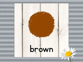 Color Posters in Farmhouse Theme