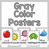 Color Posters in Gray