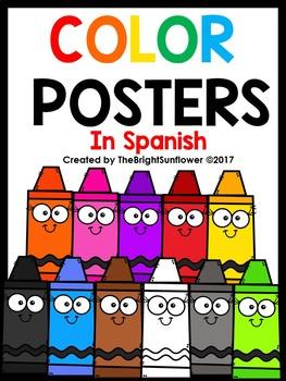Color Posters in Spanish ( Crayon edition) / Carteles de Color
